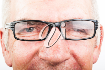 A man with glasses