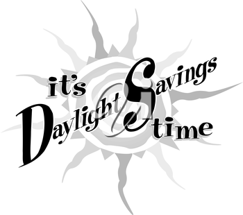 Daylight Savings Clipart