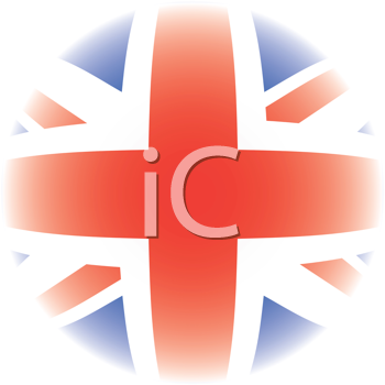Royalty Free Clipart Image of a Union Jack