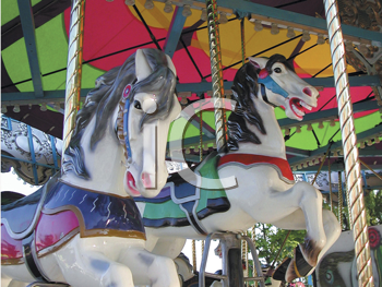 Royalty Free Photo of a Carousel