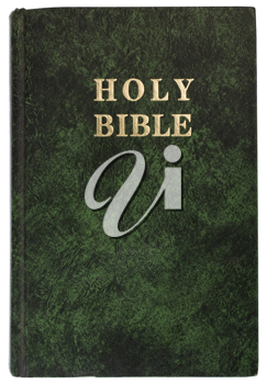 Close-up of the Bible