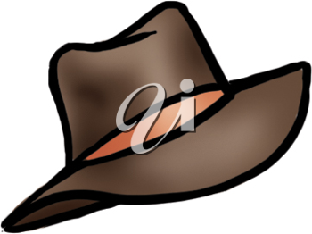 Royalty Free Clipart Image of a Hat