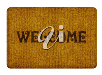Royalty Free Photo of a Welcome Doormat