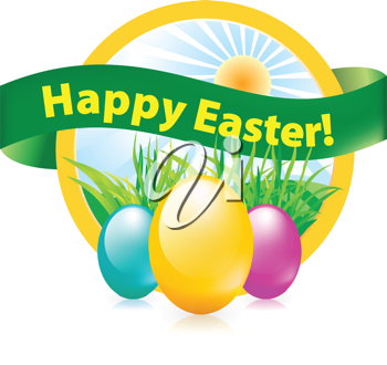 Royalty Free Clipart Image of an Easter Egg
