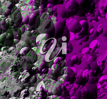 Abstract of interference on the screen. Glitch effect. Vector illustration