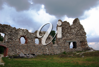 Royalty Free Photo of a Castle Ruin