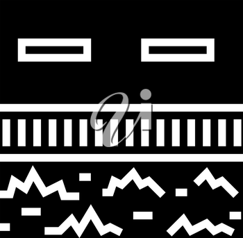 road drainage system glyph icon vector. road drainage system sign. isolated contour symbol black illustration