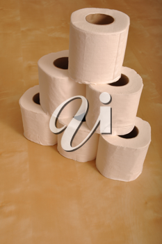 Royalty Free Photo of Toilet Paper