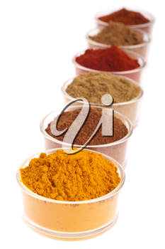 Royalty Free Photo of a Collection of Indian Spices
