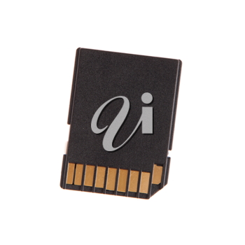 Royalty Free Photo of a Memory Card