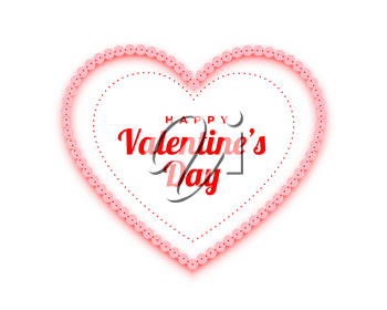 happy valentines day red hearts decorative background
