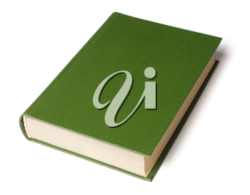 Royalty Free Photo of a Green Book