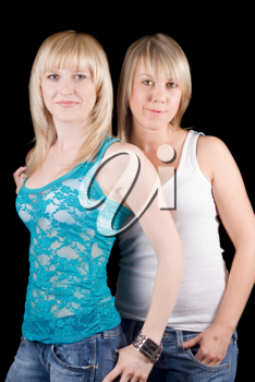 Royalty Free Photo of Two Blondes