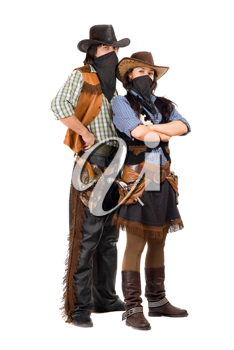 Royalty Free Photo of a Western Couple