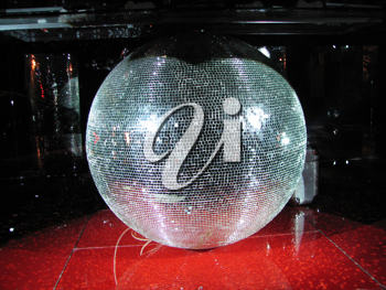 Royalty Free Photo of a Nightclub Sphere