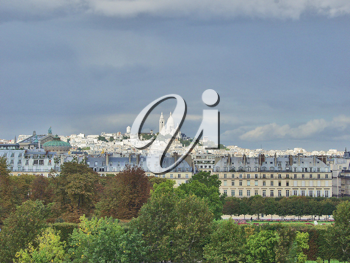 Royalty Free Photo of Montmartre in Paris, France