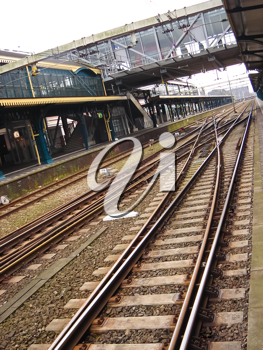 Royalty Free Photo of a Railway Station