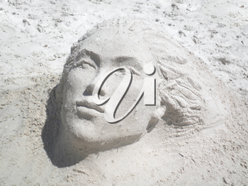 Royalty Free Photo of a Sand Sculpture