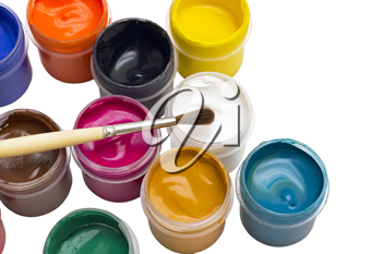 Royalty Free Photo of Paints