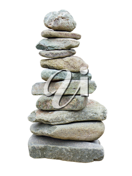 Royalty Free Photo of a Stack of Stones