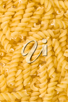 Royalty Free Photo of Fusilli Noodles