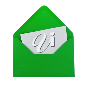 FAQ card in the green envelope