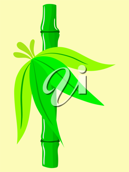 Royalty Free Clipart Image of Bamboo
