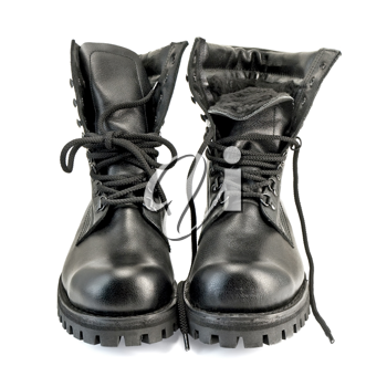Royalty Free Photo of a Pair of Boots