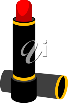 Royalty Free Clipart Image of Lipstick