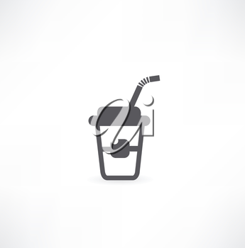 drink in a closed cup icon