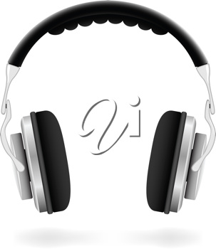 Royalty Free Clipart Image of a Pair of Headphones