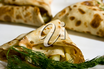 Royalty Free Photo of Crepes