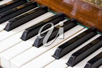 Royalty Free Photo of Piano Keys