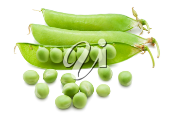 Royalty Free Photo of Pea Pods