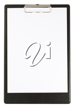 Royalty Free Photo of a Clear Clipboard