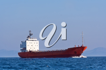 Royalty Free Photo of a Tanker Ship