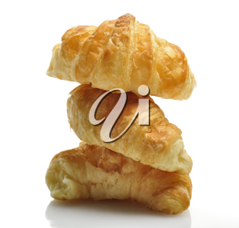Royalty Free Photo of Fresh Croissants