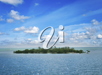 Royalty Free Photo of a Small Island