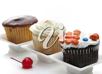 Royalty Free Photo of Cupcakes