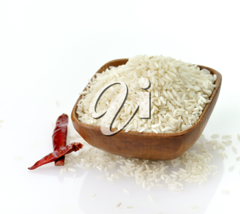 Royalty Free Photo of a Bowl of Rice