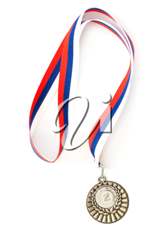 Royalty Free Photo of a Silver Medal