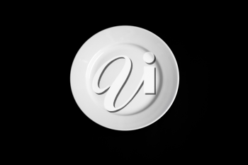 Royalty Free Photo of a Plate