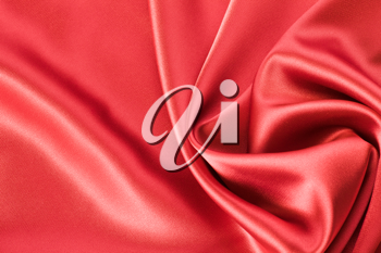 Royalty Free Photo of Red Satin