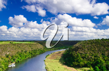 Chavon River in Dominican Republic