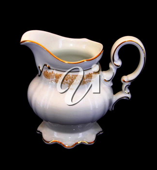 Royalty Free Photo of an Expensive Porcelain Milk Jar