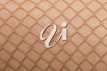 stockings on the skin as a background. macro