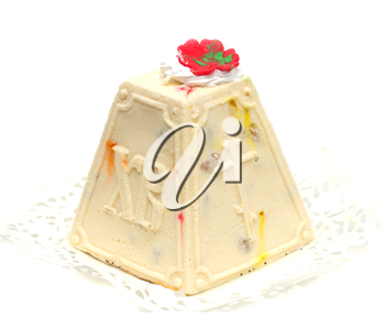 cake of cheese on Orthodox Easter
