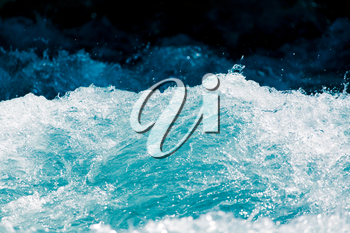 background of stormy water splashes