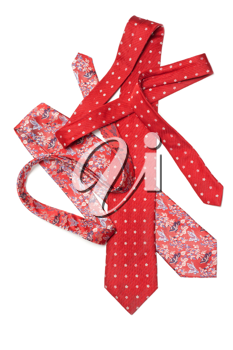 Royalty Free Photo of Red Neckties