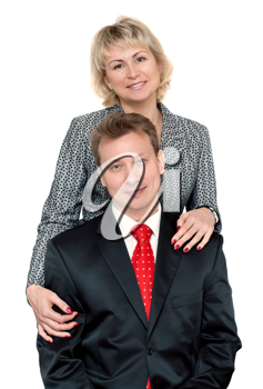 Royalty Free Photo of a Smiling Couple